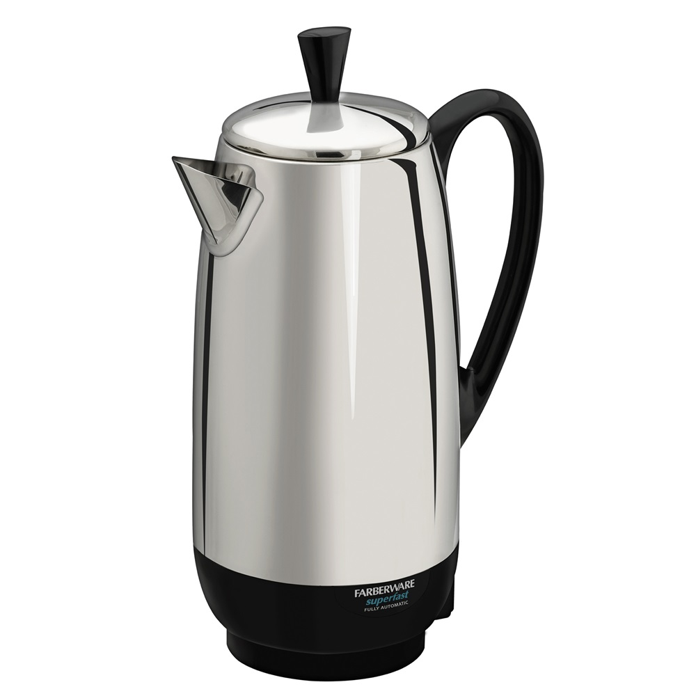 Best coffee percolator 12 cup percolator farberware for Best coffee percolator